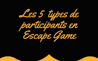 Les 5 types de joueurs de jeu d'évasion grandeur nature